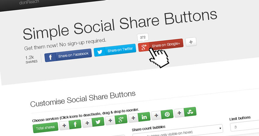 Free social sharing service launched